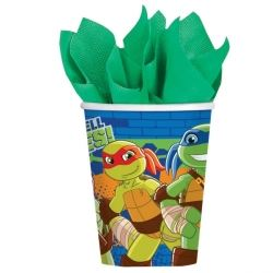 TMNT Ninja Turtles Half Shell Heroes Party Cups