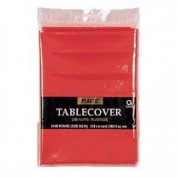 Red Party Tablecover