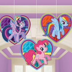 My Little Pony Party Honeycomb Decorations