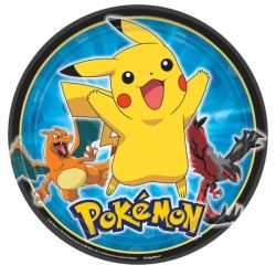 Pokemon & Friends Party Plates