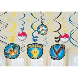 Pokemon & Friends Party Swirls