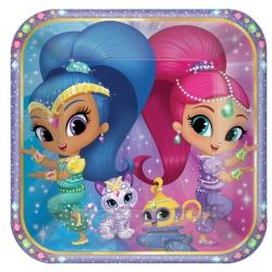 Shimmer & Shine Party Plates