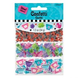 Mad Hatter Tea Party Table Confetti