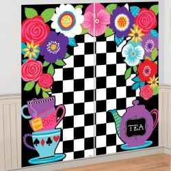 Mad Hatters Tea Party Scene Setter