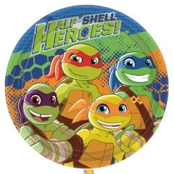 TMNT Ninja Turtles Half Shell Heroes Party Plates