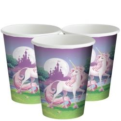 Unicorn Fantasy Party Cups