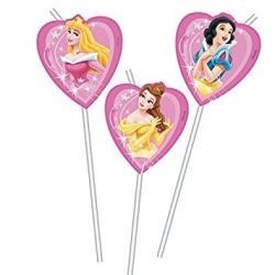 Disney Princess Party Straws