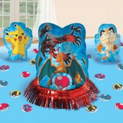 Pokemon & Friends Party Table Centerpiece Decoration Kit