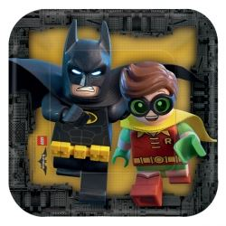 LEGO Batman Movie Party Lunch Plates