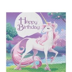 Unicorn Fantasy Party Napkins