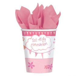 Communion Church Pink Party Cups