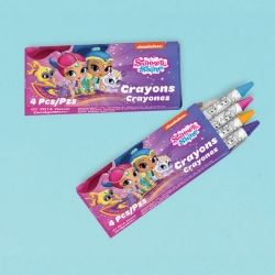 Shimmer And Shine Party Favour Crayons