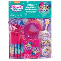 Shimmer And Shine Party Favour Mega Pack
