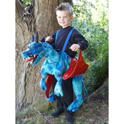 Travis Design Role Play Ride On Dragon Fancy Dress Age 3 +