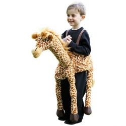 Travis Design Role Play Ride On Giraffe Fancy Dress Age 3 +