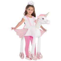 Travis Design Role Play Ride On Unicorn Fancy Dress Age 3 +