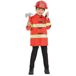 Role Play Dress Up Firefighter Kit Age 4-6