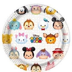 Disney Tsum Tsum Party Plates
