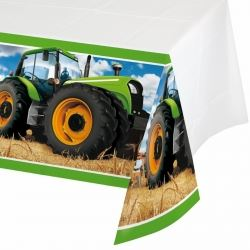Tractor Time Party Tablecovers