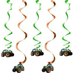 Tractor Time Dizzy Dangler Decorations