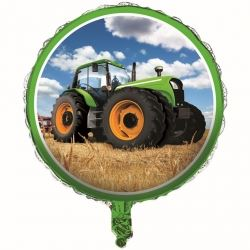 Tractor Time Foil Balloon
