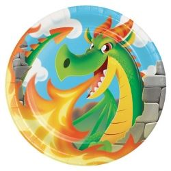 Dragon Party Plates