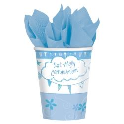 Communion Church Blue Party Cups