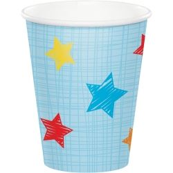 One Is Fun Jungle Boy Party Cups