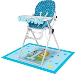 One Is Fun Jungle Boy Party High Chair Kit