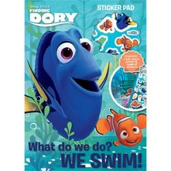 Finding Dory Party Favour Sticker Pad