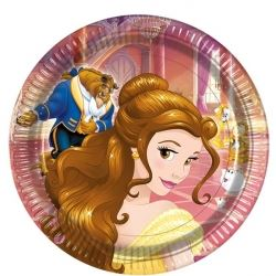 Disney Beauty And The Beast Party Plates