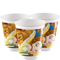 Disney Beauty And The Beast Party Cups