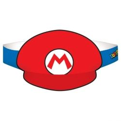 Super Mario Paper Party Hat