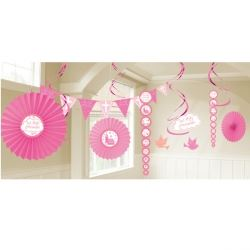 Communion Church Pink Party Decoration Kit