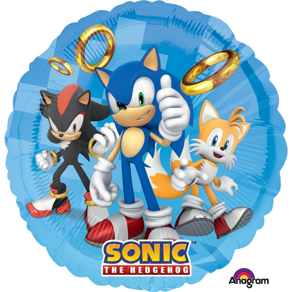 Sonic The Hedgehog SuperShape Foil Party Balloon