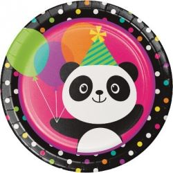 Panda - Monium Party Plates