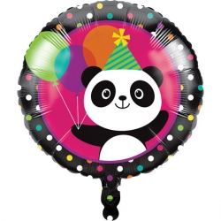 Panda - Monium Party Foil Balloon