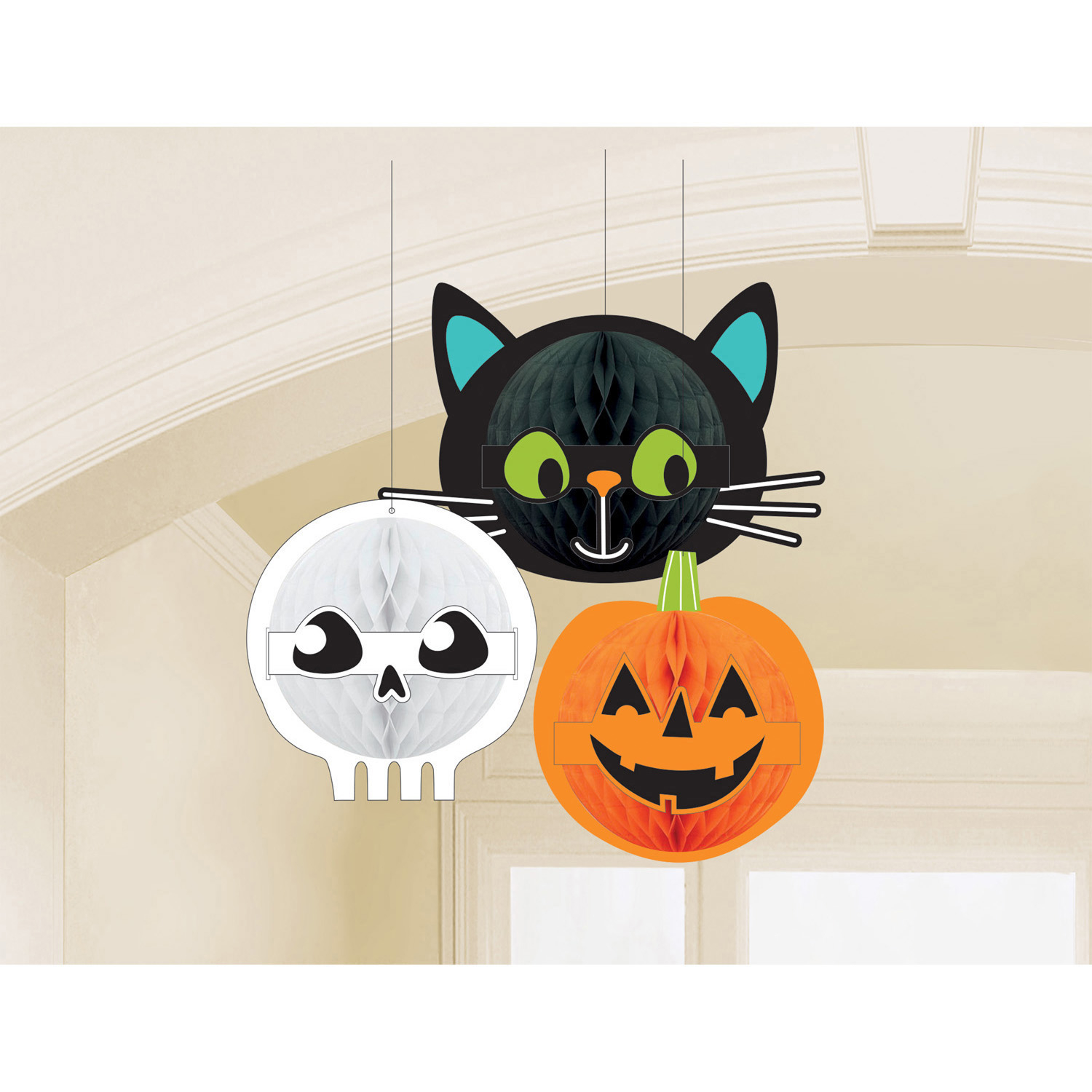 Mad Hatter Tea Party Tea Pots Honeycomb Decorations