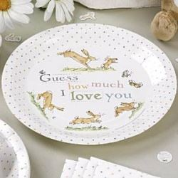 Guess How Much I Love You Party Plates