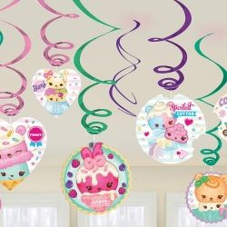 Sale Num Noms Party Swirl Decorations