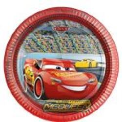 Disney Cars 3  Party Plates