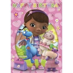 Disney Doc McStuffin Happy Birthday Card