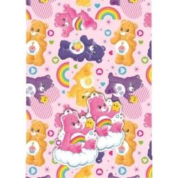 Care Bears Gift Wrap And Gift Tags