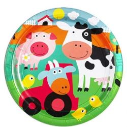 Farm Fun Party Plates