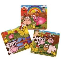Party Favour Farmyard Jigsaw Puzzle