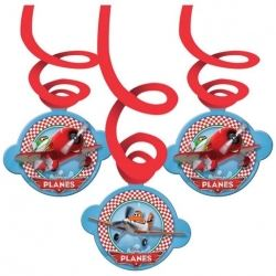 Disney Planes Party Swirl Decoration