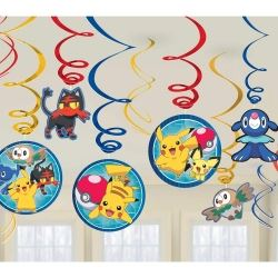 Pokemon Core Party Swirls