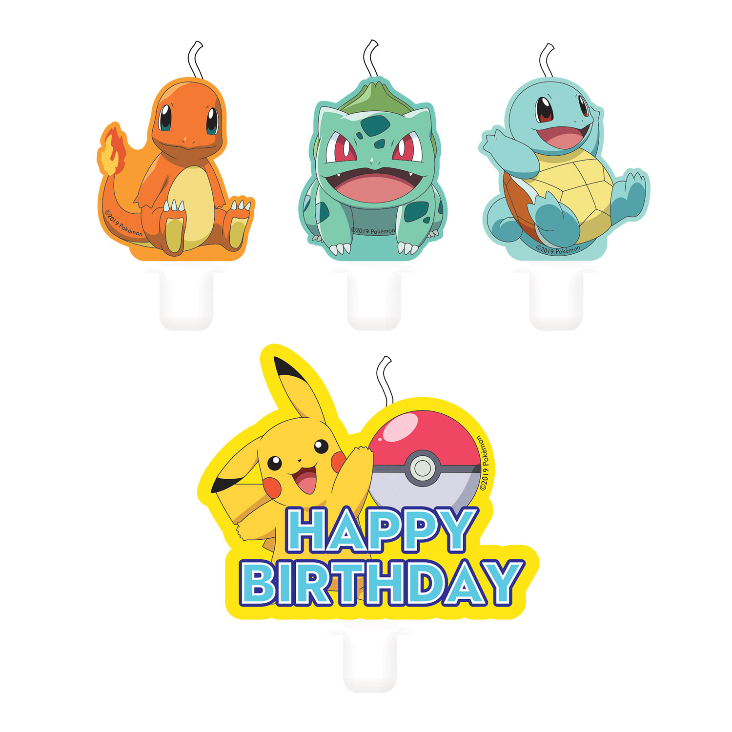 Pokemon Core Party Candles