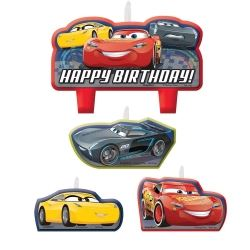 Cars 3 Birthday Party Candles