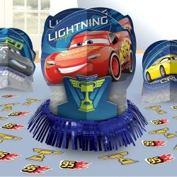 Cars 3 Party Table Centre Piece